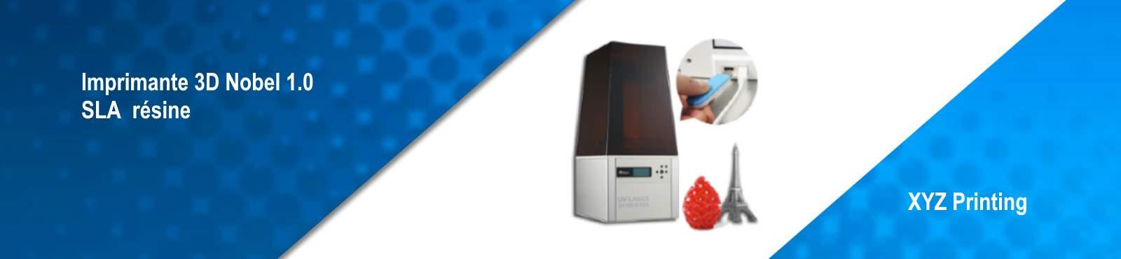 imprimate 3d resine nobel 1.0 , de grande qualité avec les résine les moins chère du marché