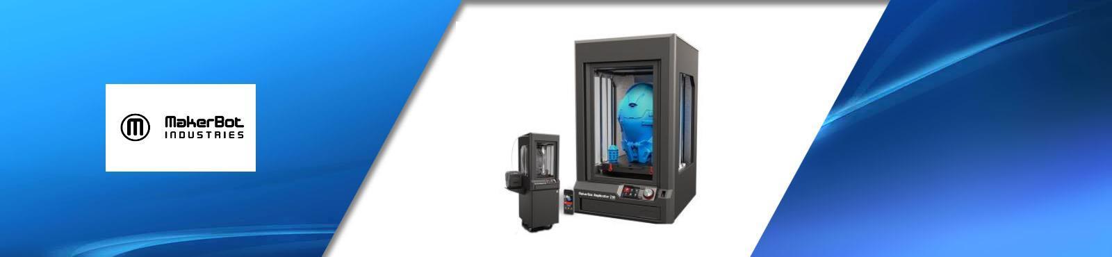 makerbot industrie imprimante 3D professionnelle avec filament PLA